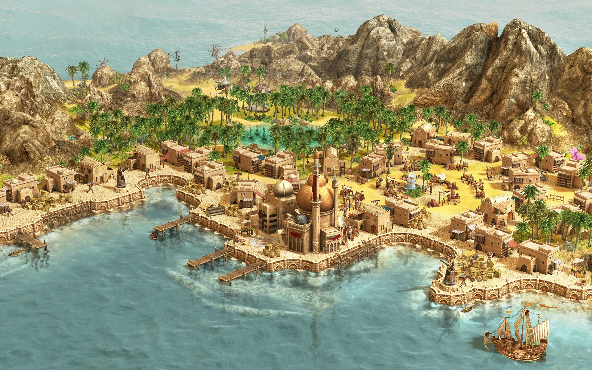 Anno 1404 Gold Edition screenshot 2