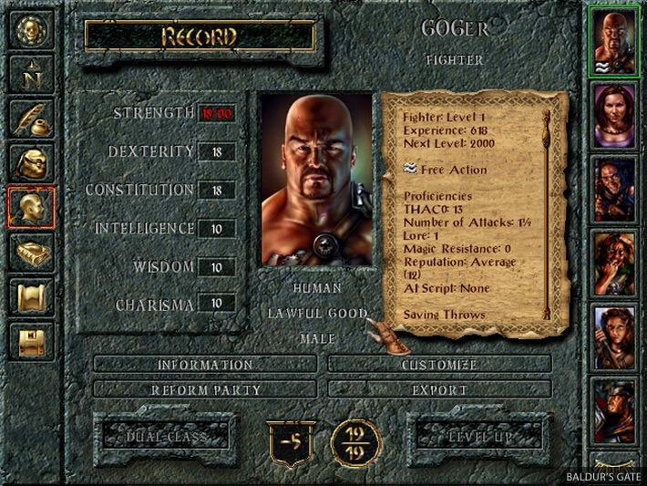 Baldur's Gate: The Original Saga screenshot 1