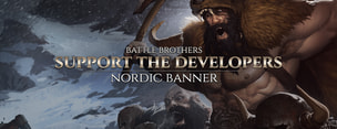 Battle Brothers - Support the Developers & Nordic Banner