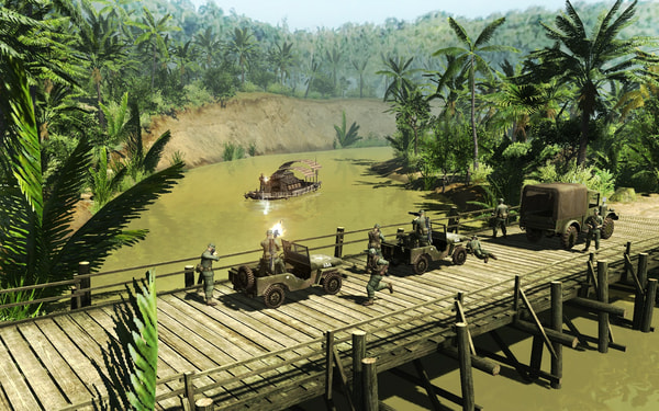 Men of War: Vietnam Special Edition screenshot 2