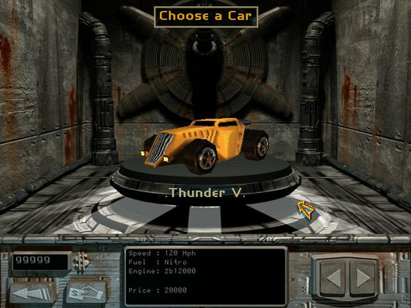 MegaRace 1+2 screenshot 1
