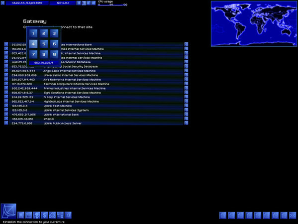 Uplink: Hacker Elite screenshot 1