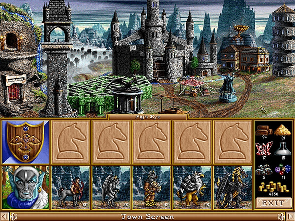 Heroes of Might and Magic 2: Gold screenshot 2