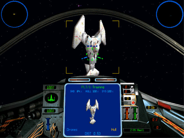 Star Wars: X-Wing Vs. TIE Fighter screenshot 1