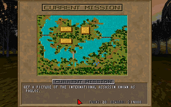 Jagged Alliance: Deadly Games screenshot 1