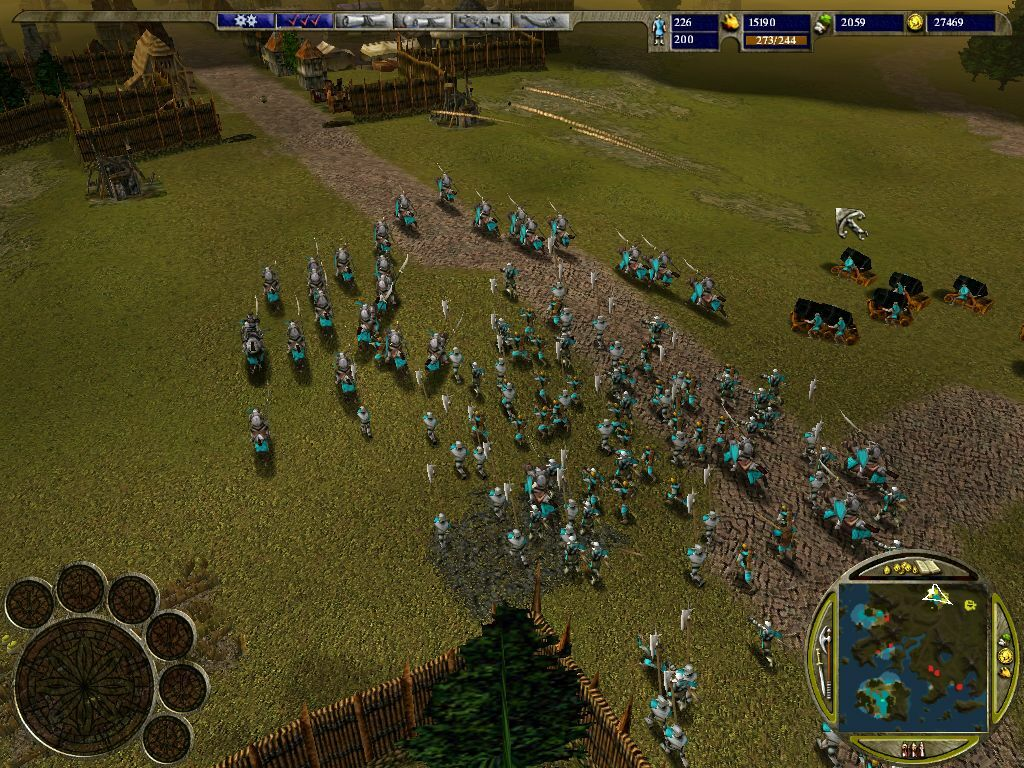 Warrior Kings screenshot 1