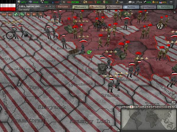 Hearts of Iron III + DLC Collection screenshot 2