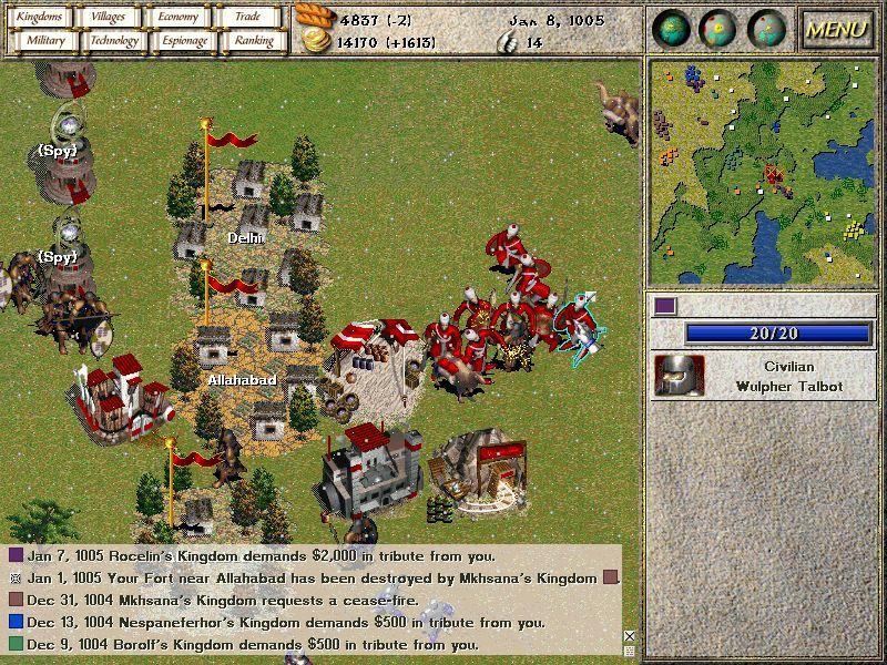 Seven Kingdoms: Ancient Adversaries screenshot 3