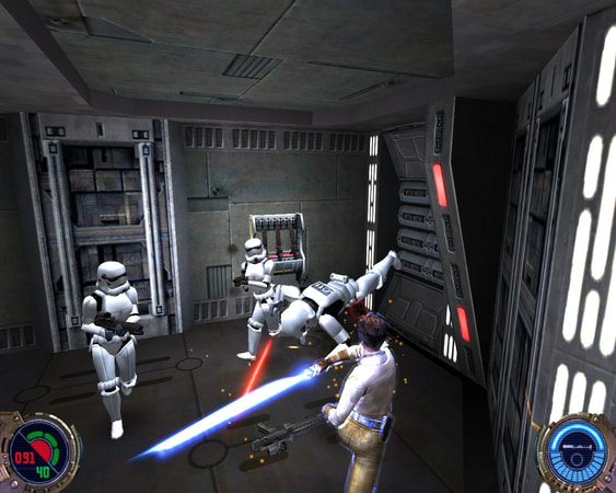 Star Wars: Jedi Knight II - Jedi Outcast screenshot 1