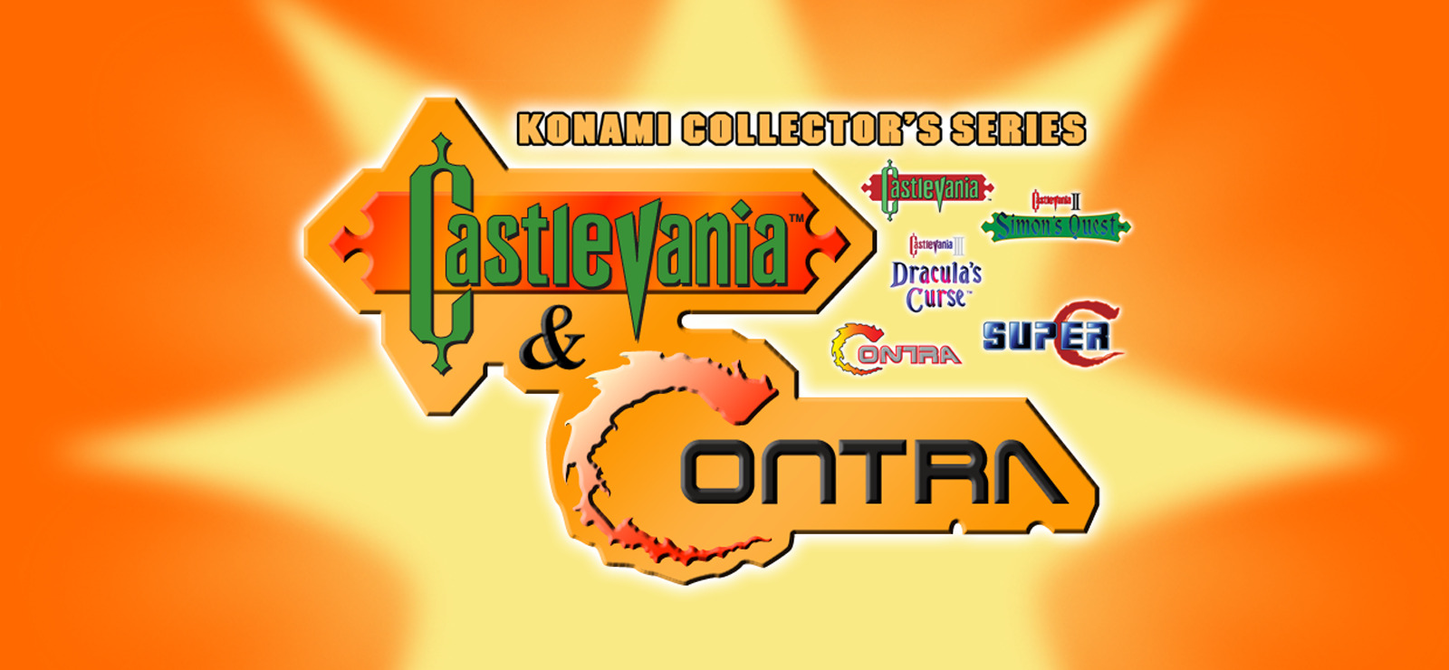 Konami Collectors Series Castlevania and Contra-GOG
