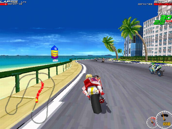 Moto Racer screenshot 2